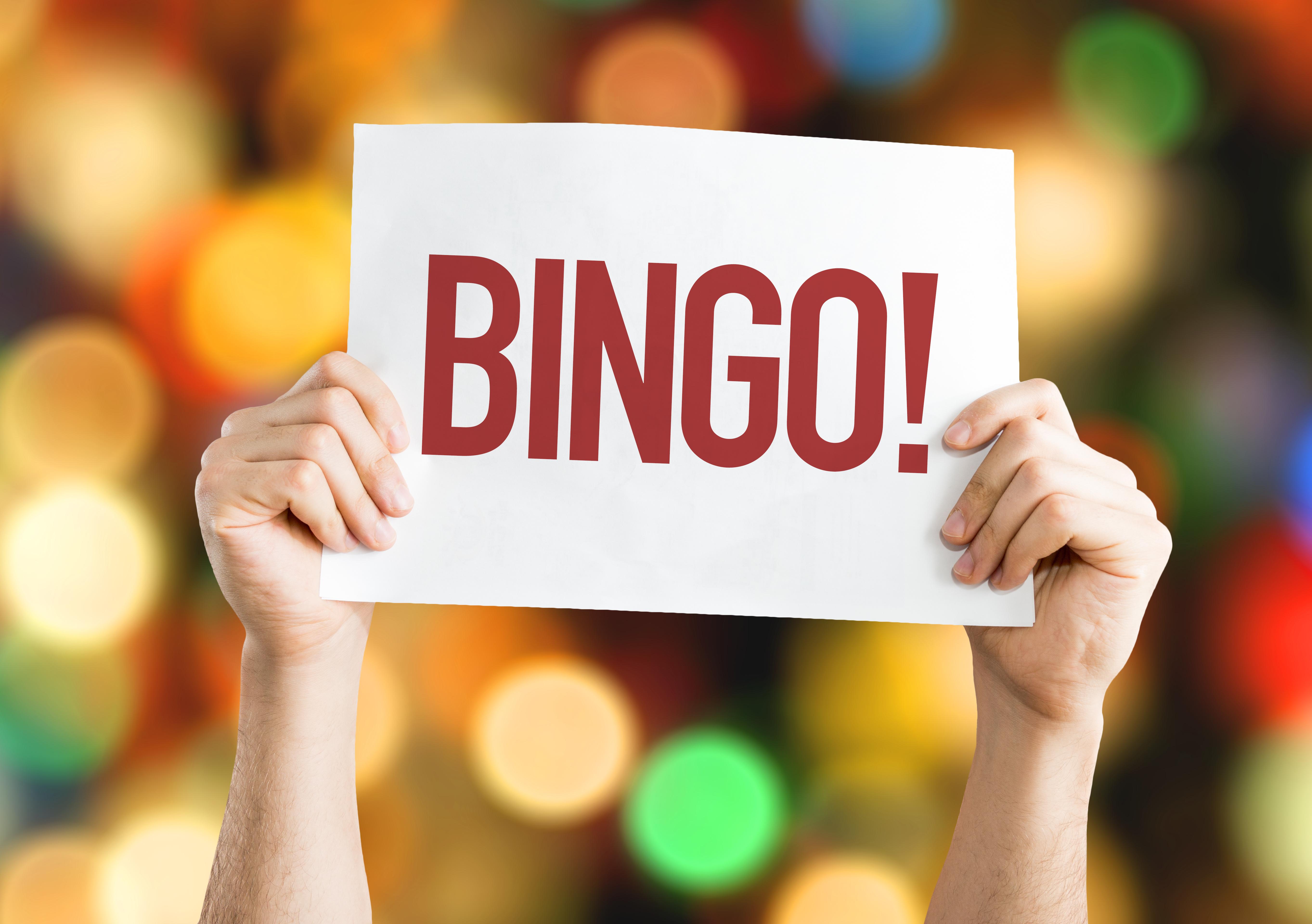 Online Games:  Friday Family Bingo! (Rescheduled)