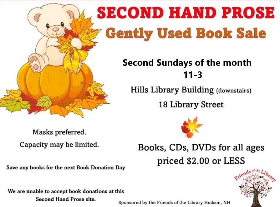 Second Hand Prose sale