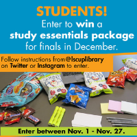 Win a study room for finals