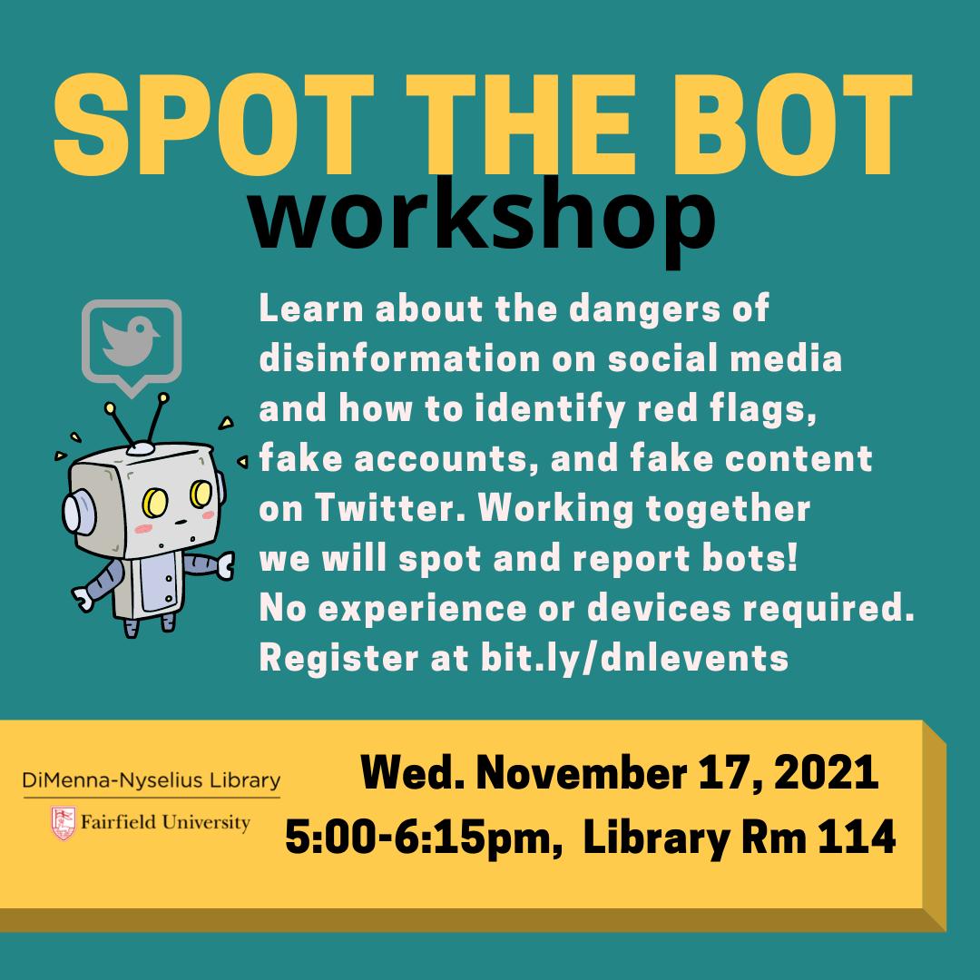 Spot the Bot (Workshop)