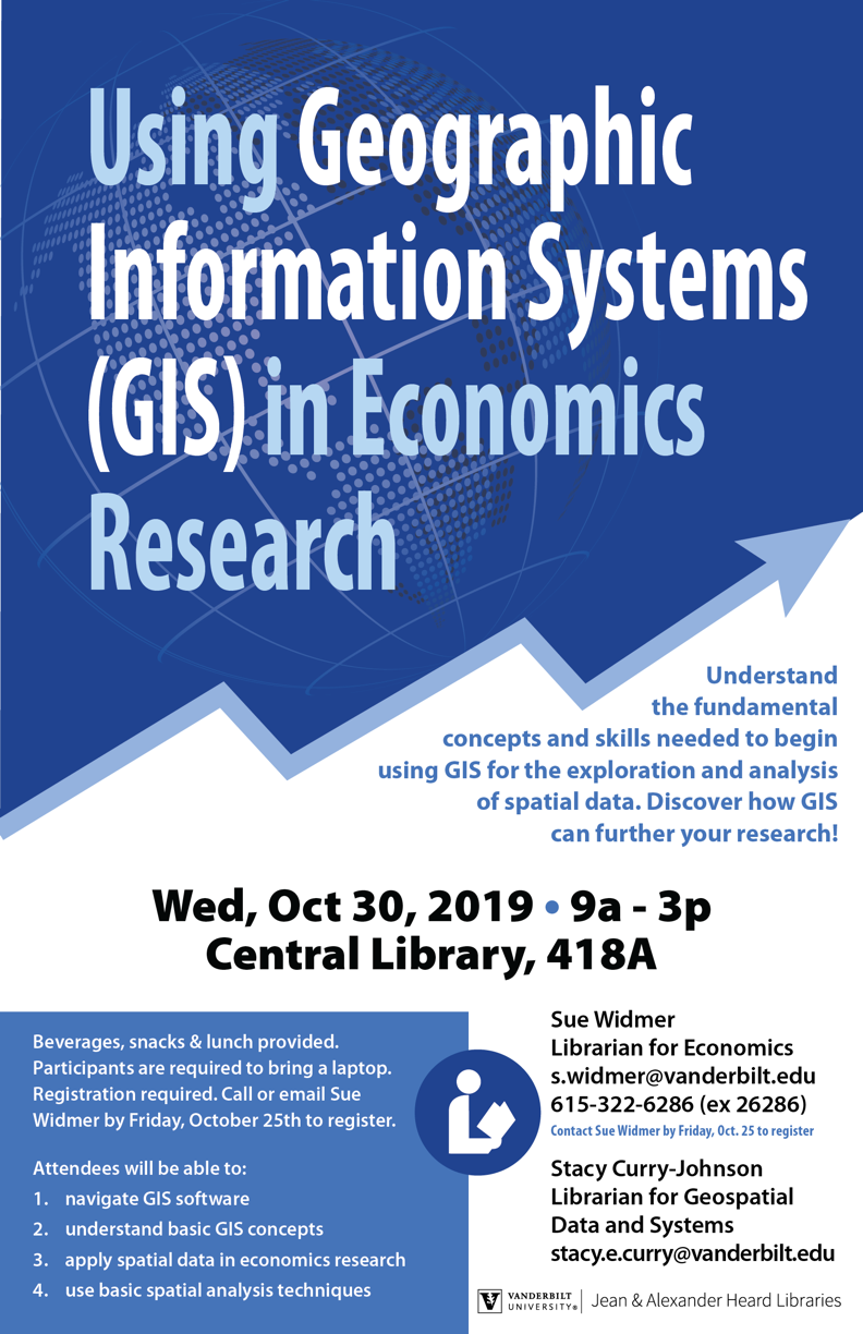 Using Geographic Information Systems (GIS) in Economics Research