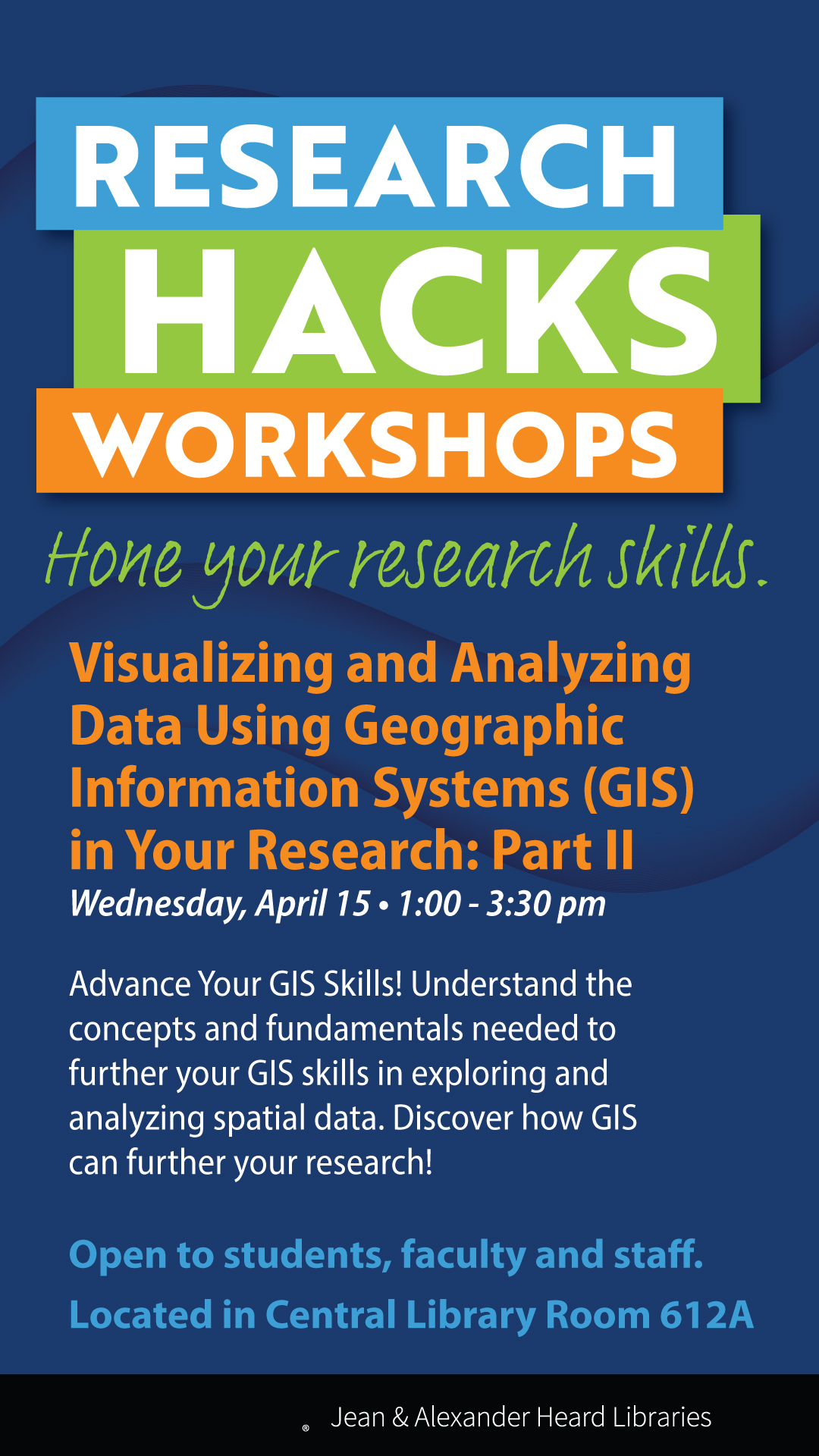 Visualizing and Analyzing Data Using GIS (Geographic Information Systems) in Your Research: Part II