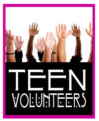 Monday Teen Volunteers