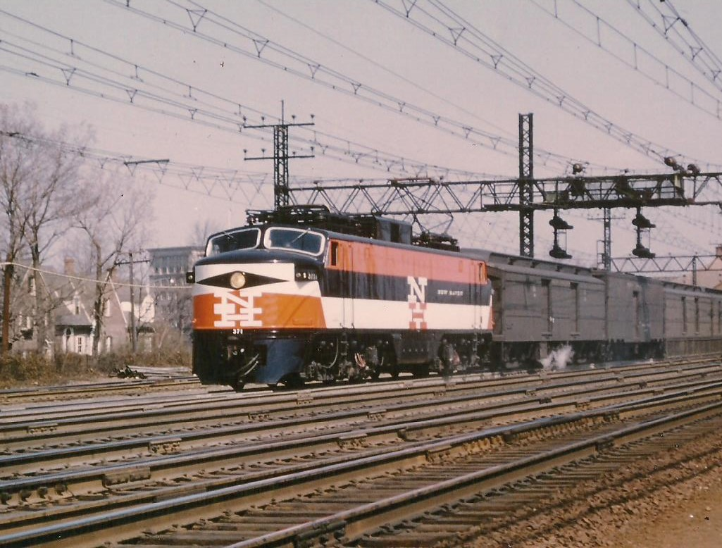 The Electrification of the New Haven Railroad