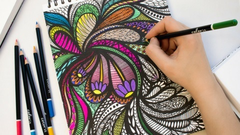 Relaxing Coloring Night for Adults