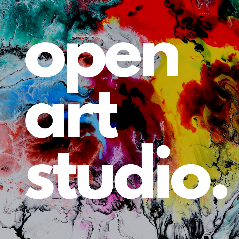Open Art Studio in the Library Loft