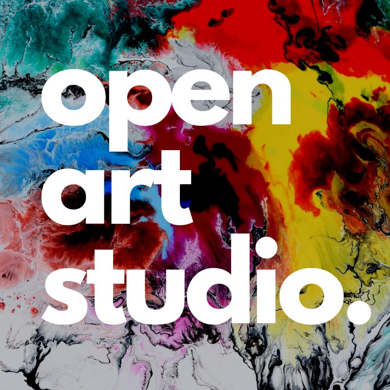 Open Art Studio in the Library Loft