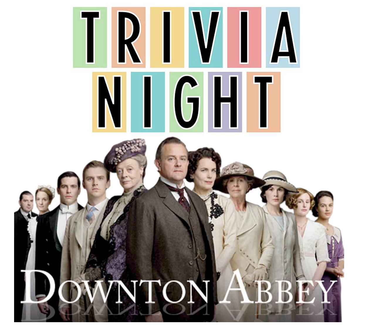Trivia Night: Downton Abbey Edition