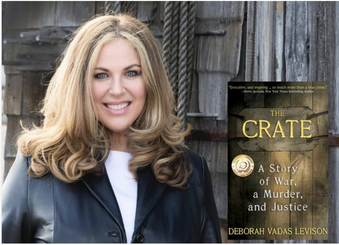 "Author Talk: Deborah Vadas Levison: ""The Crate"""