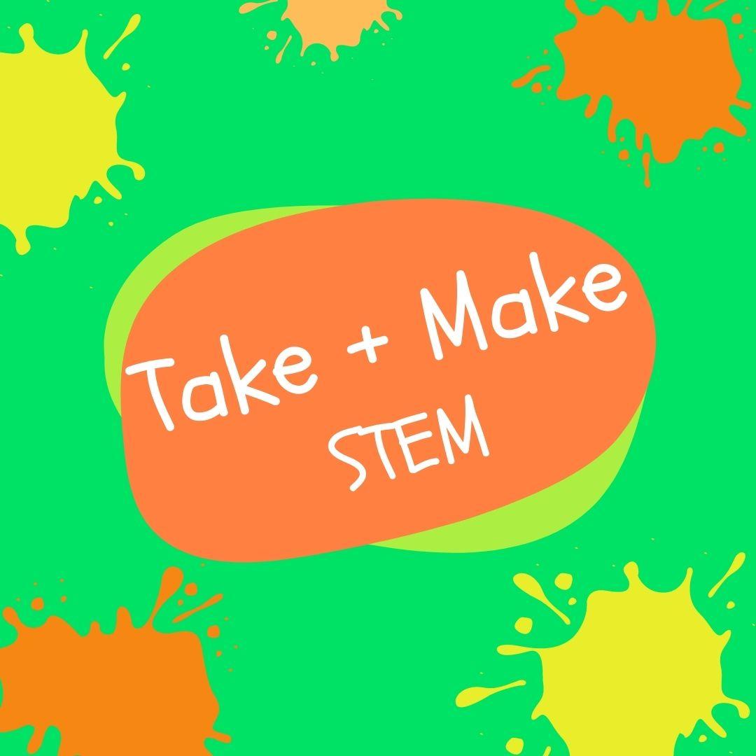 Take + Make: Polymer STEM (Grades 1-6)