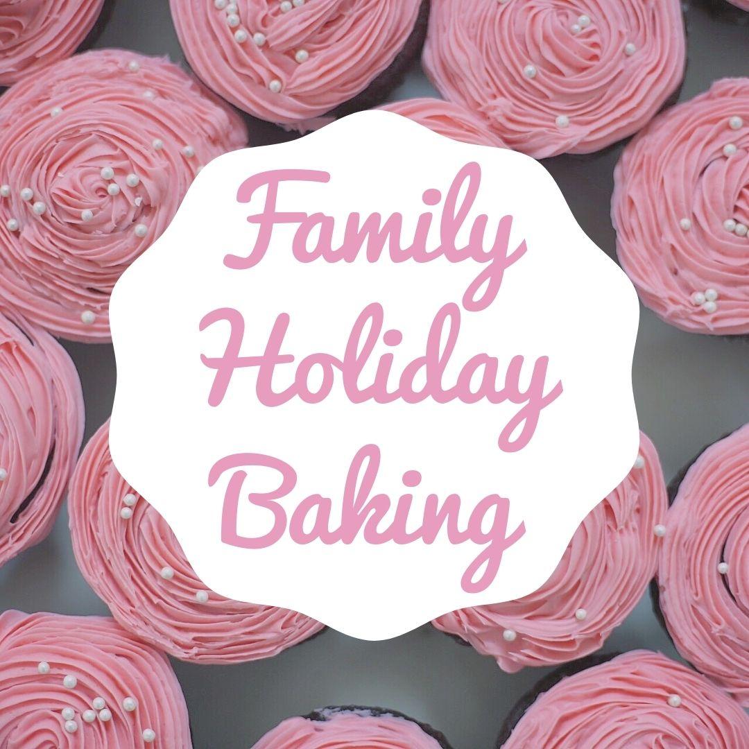Family Holiday Baking: Chocolate Fudge