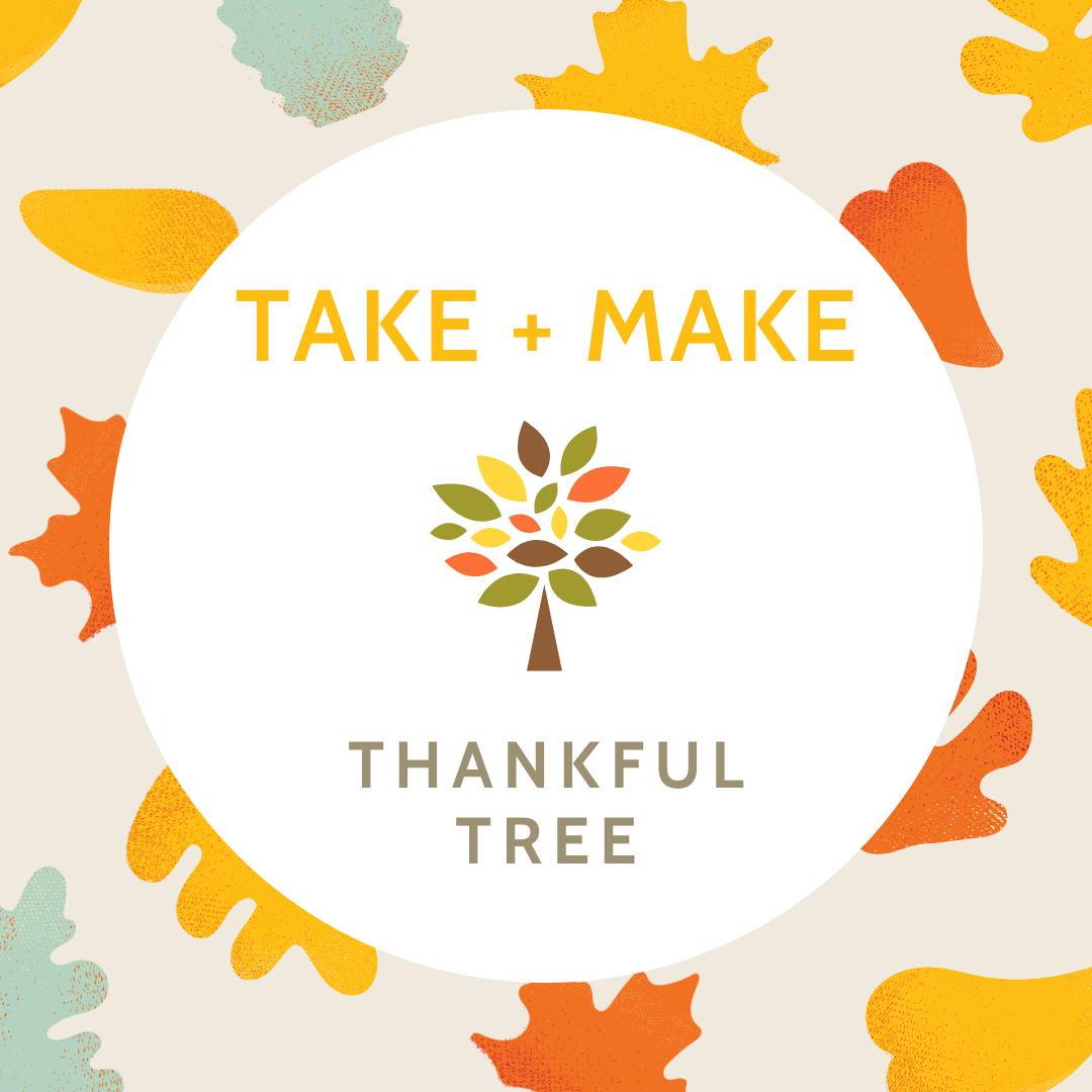 Take + Make: Thankful Tree