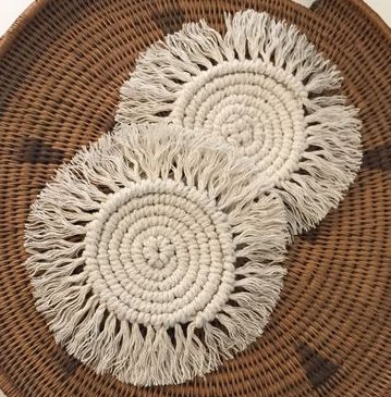 Adult Take & Make Workshop: Macramé Coaster
