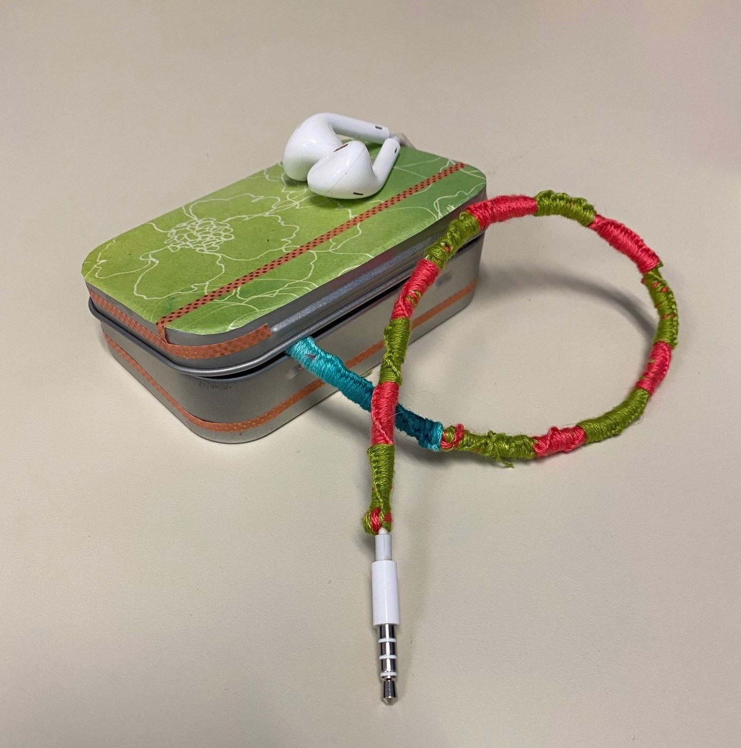Earbud Holders and Wrapped Earbuds (Teen Take & Make, Grades 6-12)