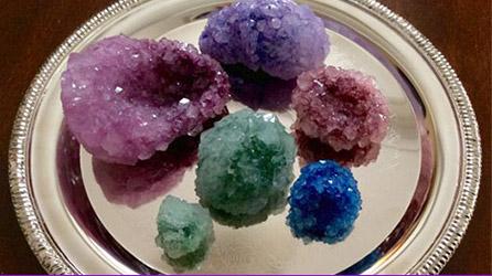 Take + Make: DIY Crystal Geodes! (Grades 6-12)