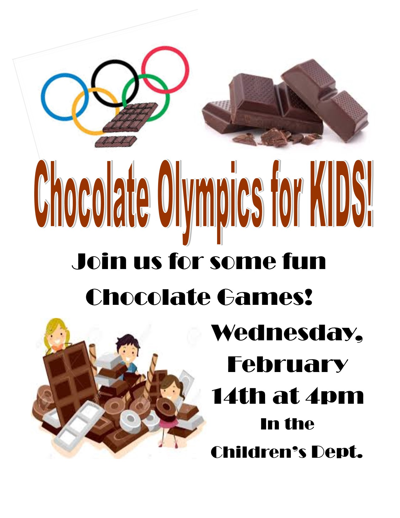 Children's Chocolate Olympics