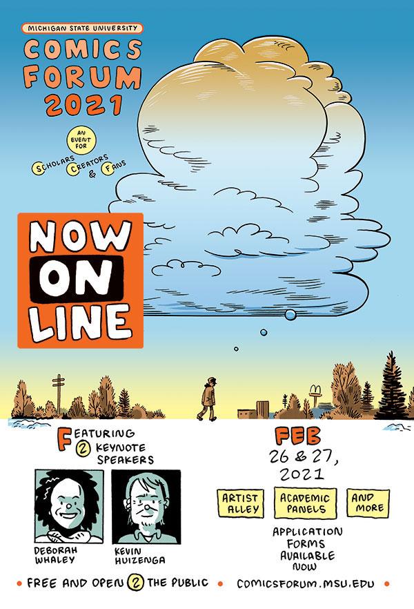 MSU Comics Forum 2021 | Friday
