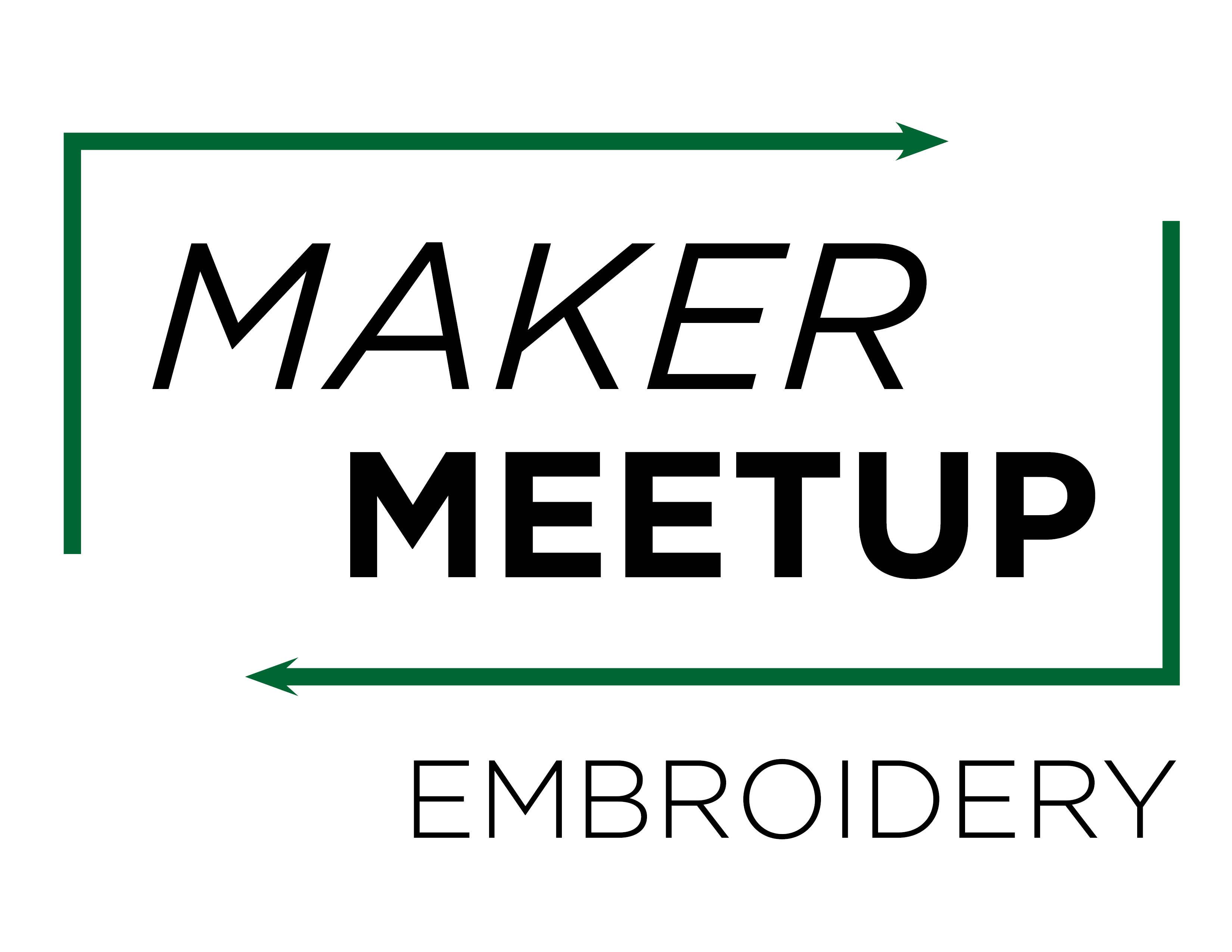 Virtual Maker Meetup: Embroidery