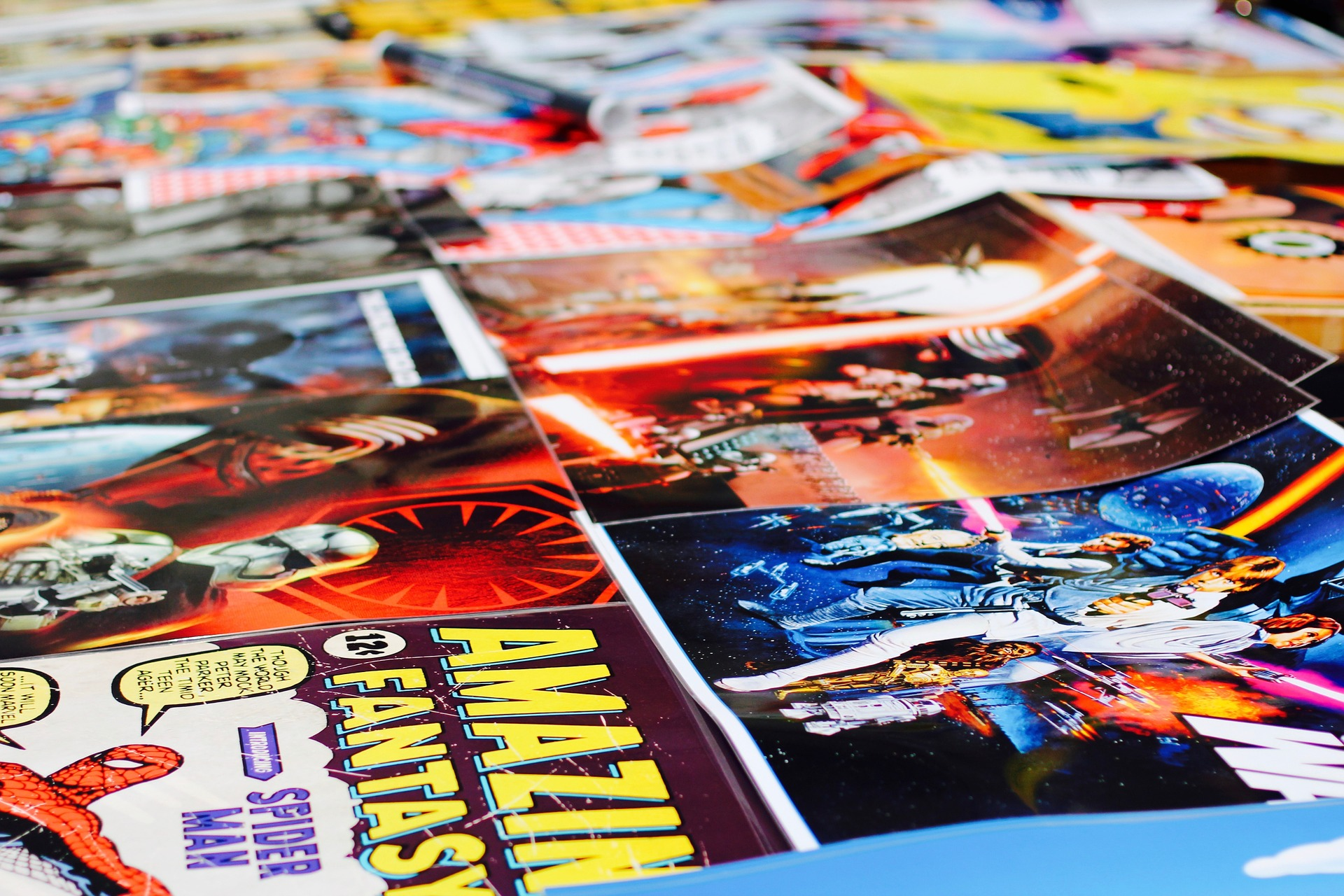 Tween/Teen Crafternoon: Comic Book Magnets