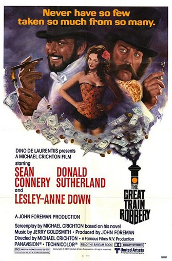 """All Aboard!"" for Movies Set on Trains, 1970s Edition: The Great Train Robbery"