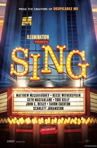 CANCELED June Teen Movies in Medford: Sing!