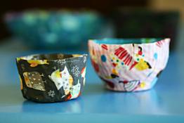 Make a Fabric Bowl