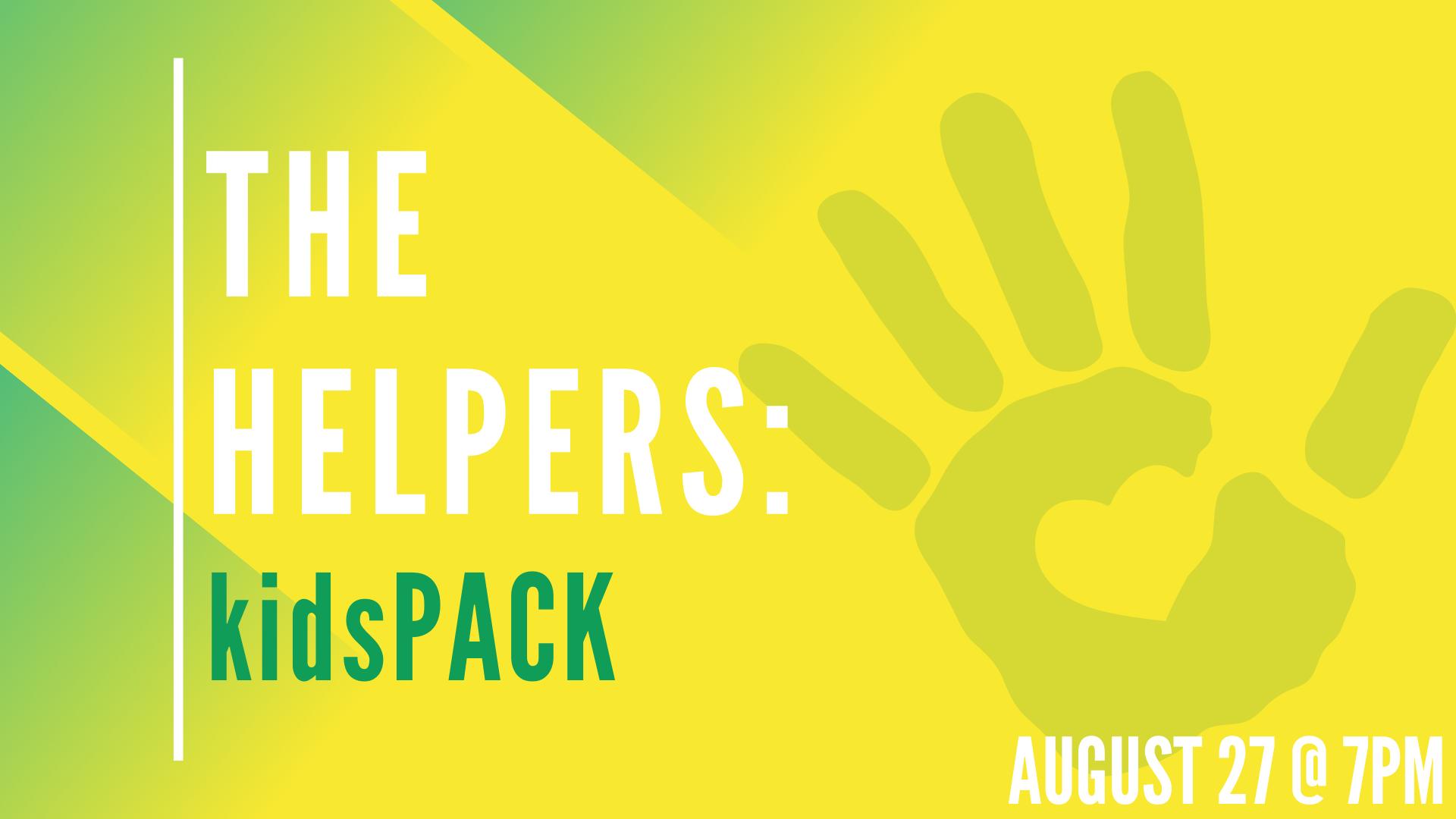 The Helpers: kidsPACK