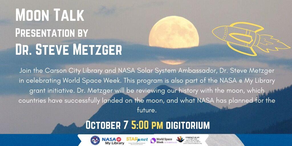 Moon Talk - NASA Solar System Ambassador