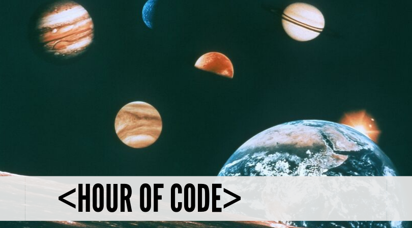 Hour of Code: Code Your Own Solar System