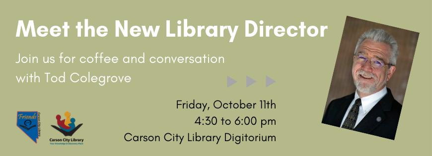 Library Director Meet & Greet