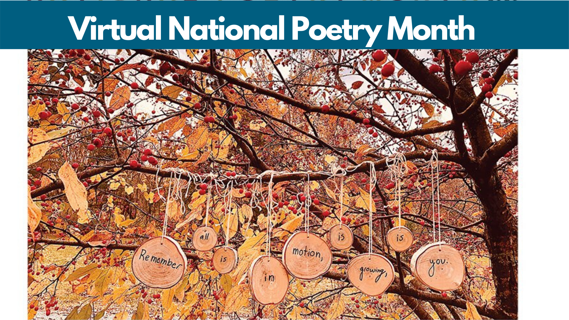 Virtual National Poetry Month