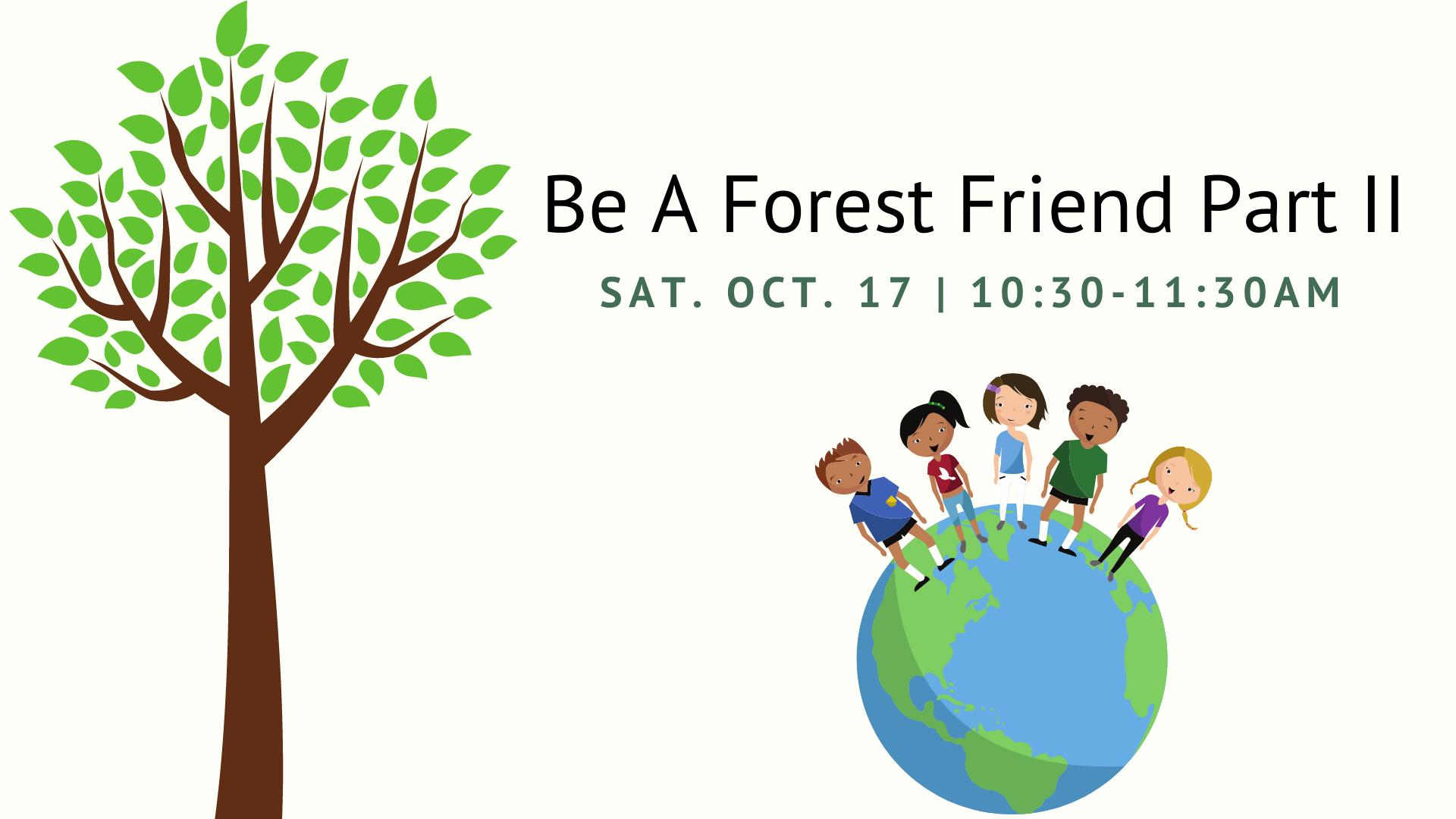 Virtual Be a Forest Friend II
