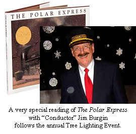 Annual Tree Lighting and Polar Express