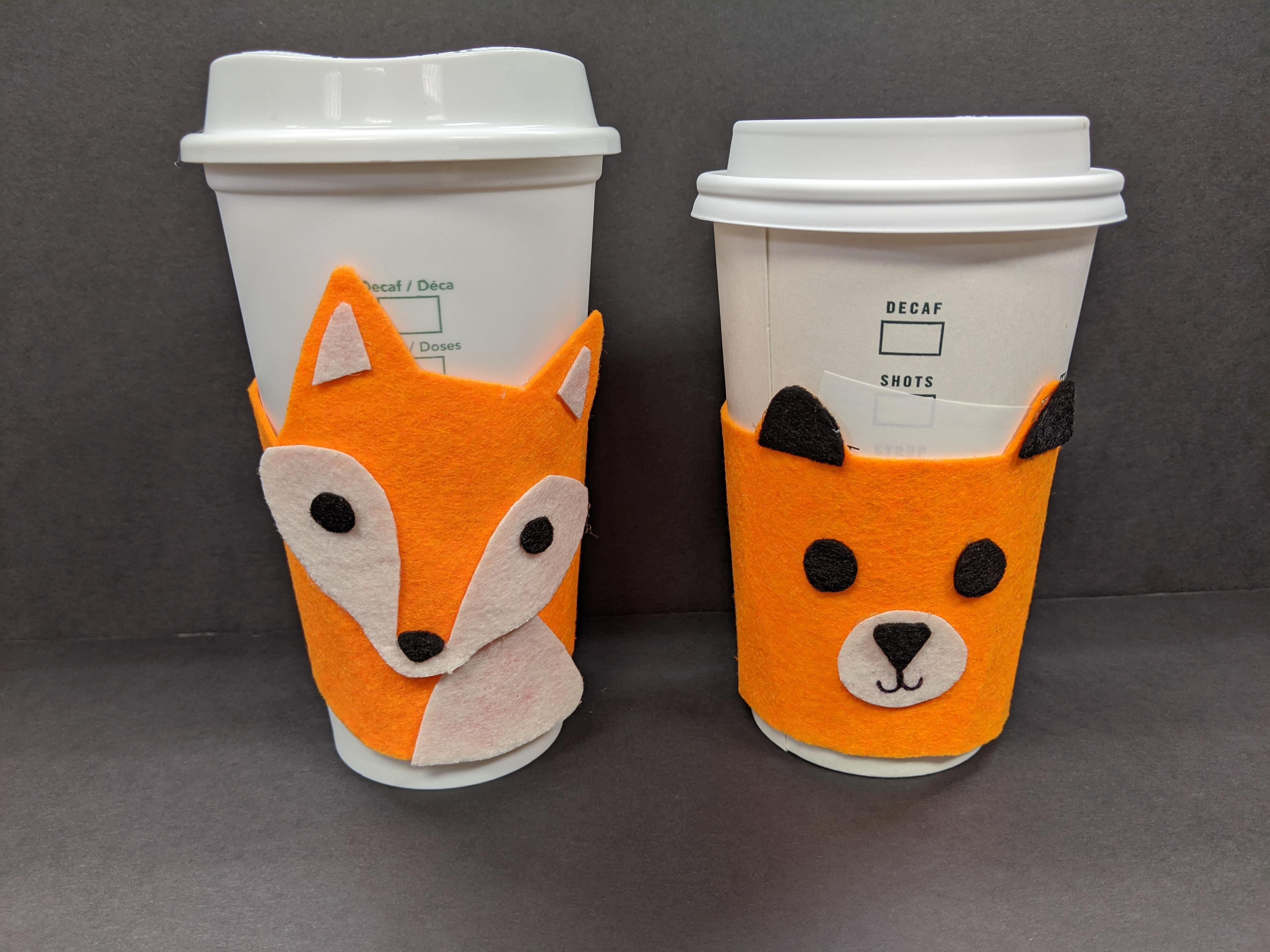 ONLINE - Take & Make: Felt Fox Coffee Cozy
