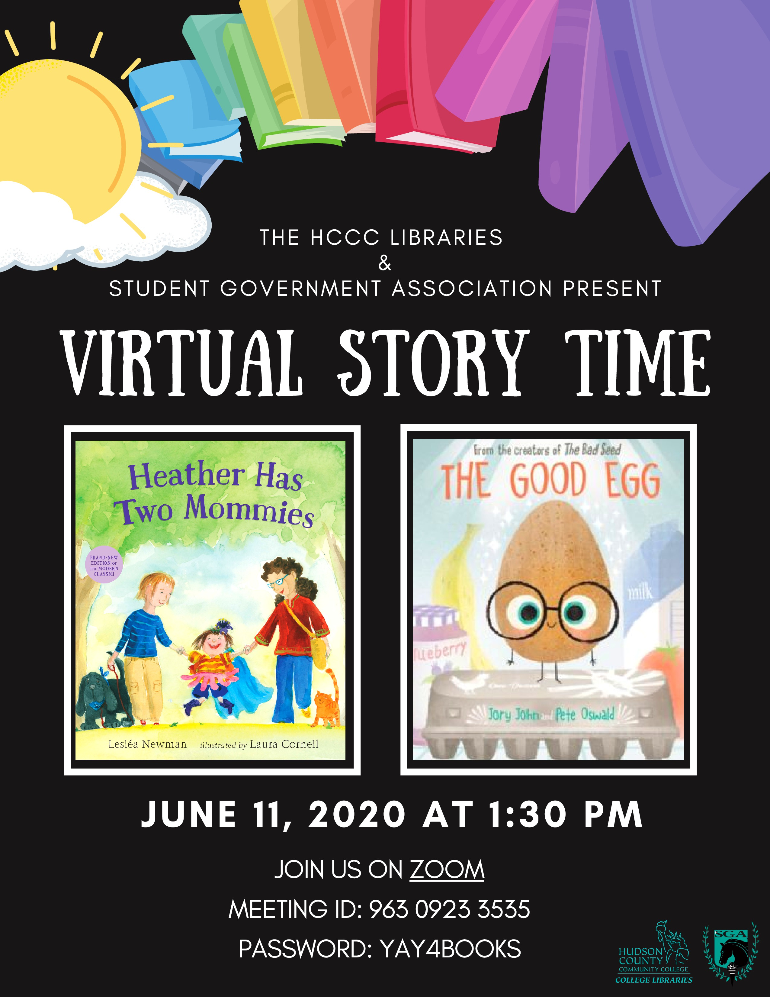 Virtual Story Time, June 11th, 2020.
