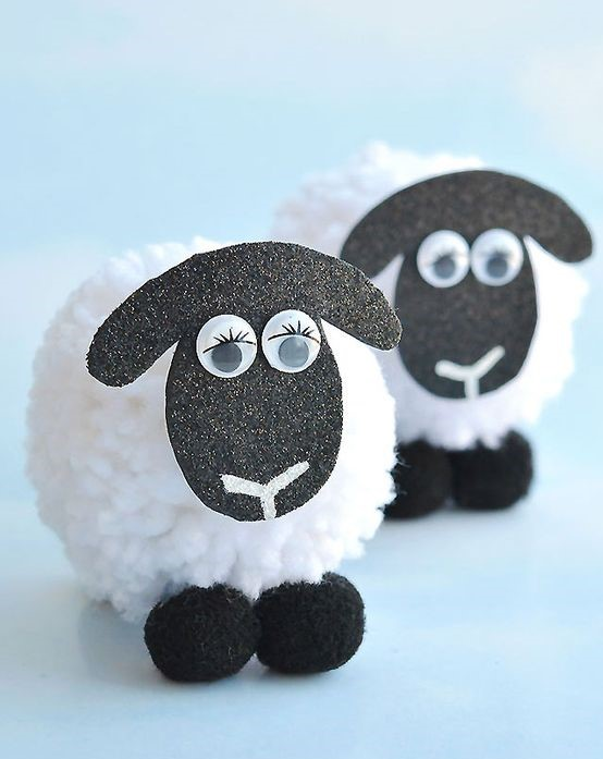 Animal Camp: Pom-Pom Sheep (Week 1 - Session 1)