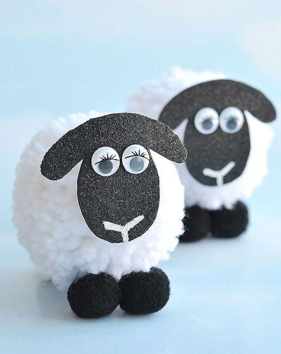 Animal Camp: Pom-Pom Sheep (Week 1 - Session 2)