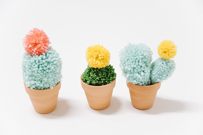 Make it Monday: Pom Pom Cacti