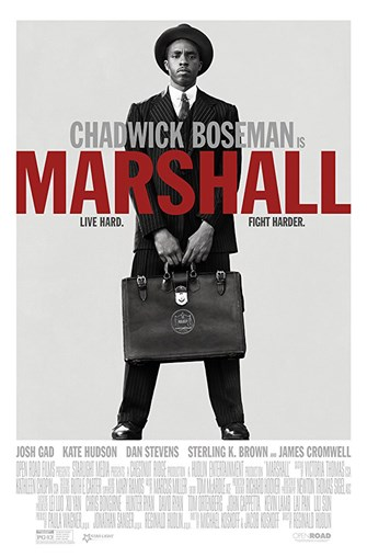 Sunday Funday - Movie: Marshall (PG-13, 2018, 118 min.)