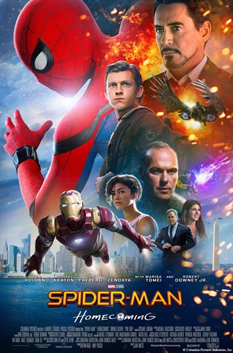 Sunday Funday - Movie: Spider-Man:  Homecoming (PG, 2017, 133 min.)
