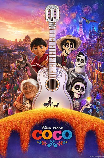 Sunday Funday - Movie: Coco (PG, 2017, 109 min.)