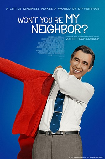 Sunday Funday-Movie: Won't You Be My Neighbor? (PG-13, 2018, 94 min.)