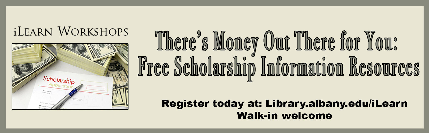 There's Money Out There for You: Free Scholarship Information Resources