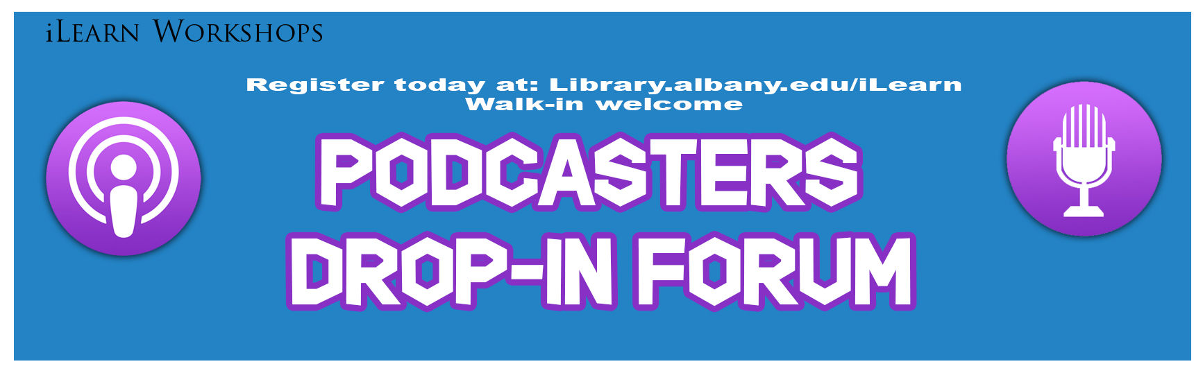 Podcasters Drop-In Forum
