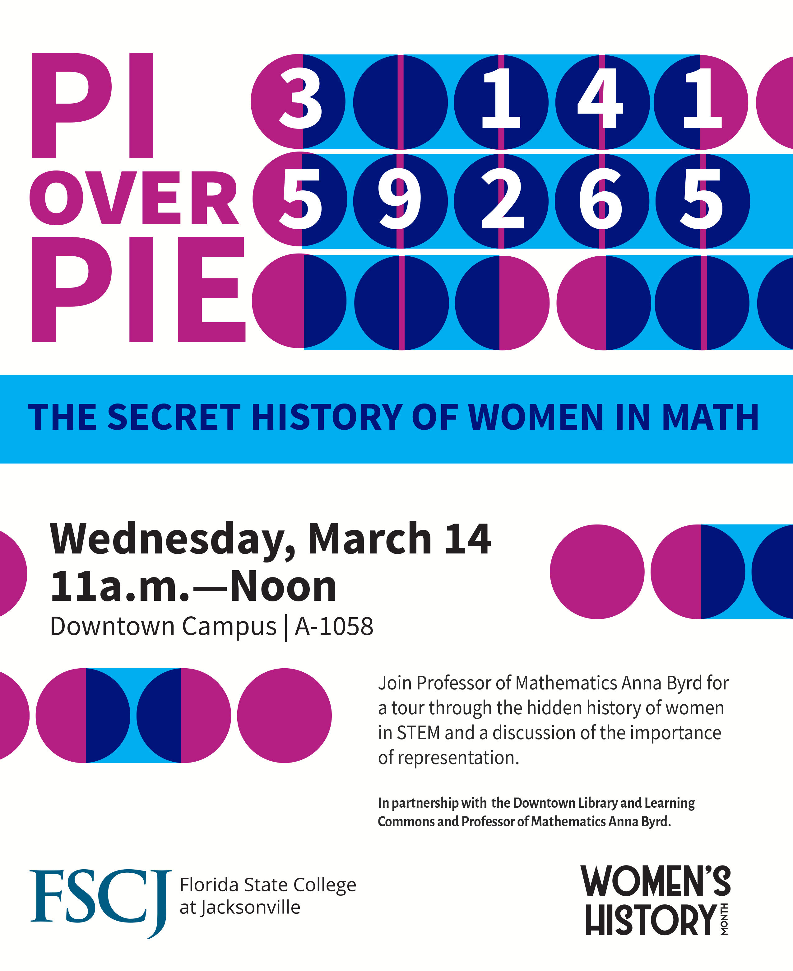 Pi Over Pie: The Secret History of Women in Math