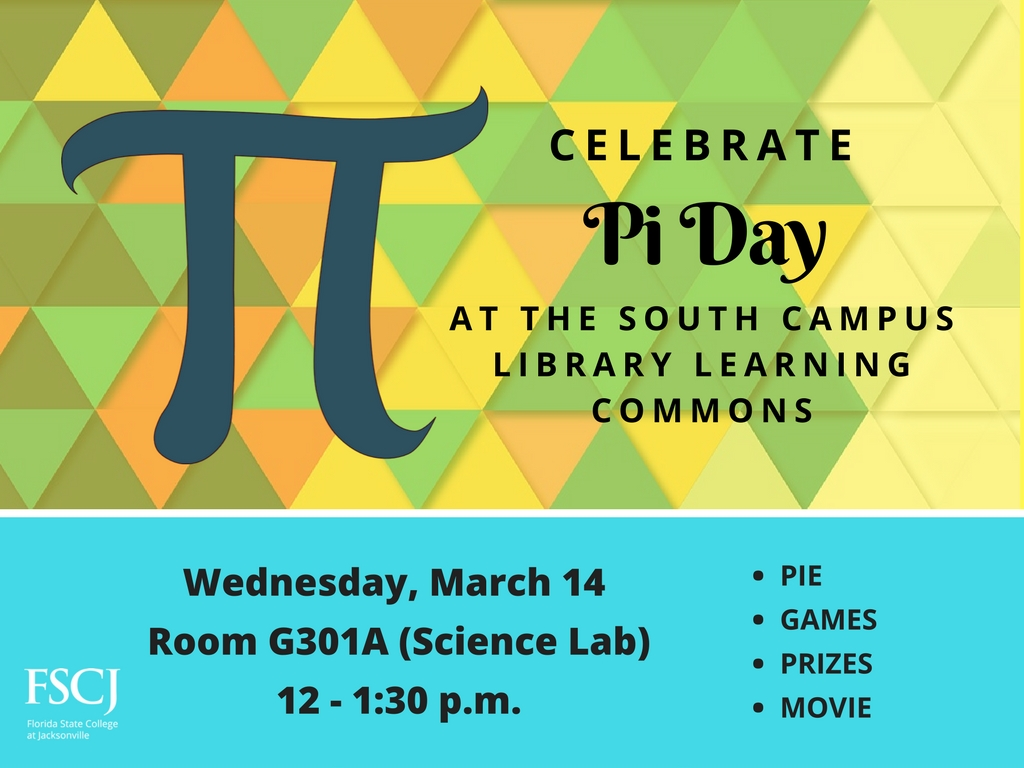 South Campus LLC Pi Day Celebration