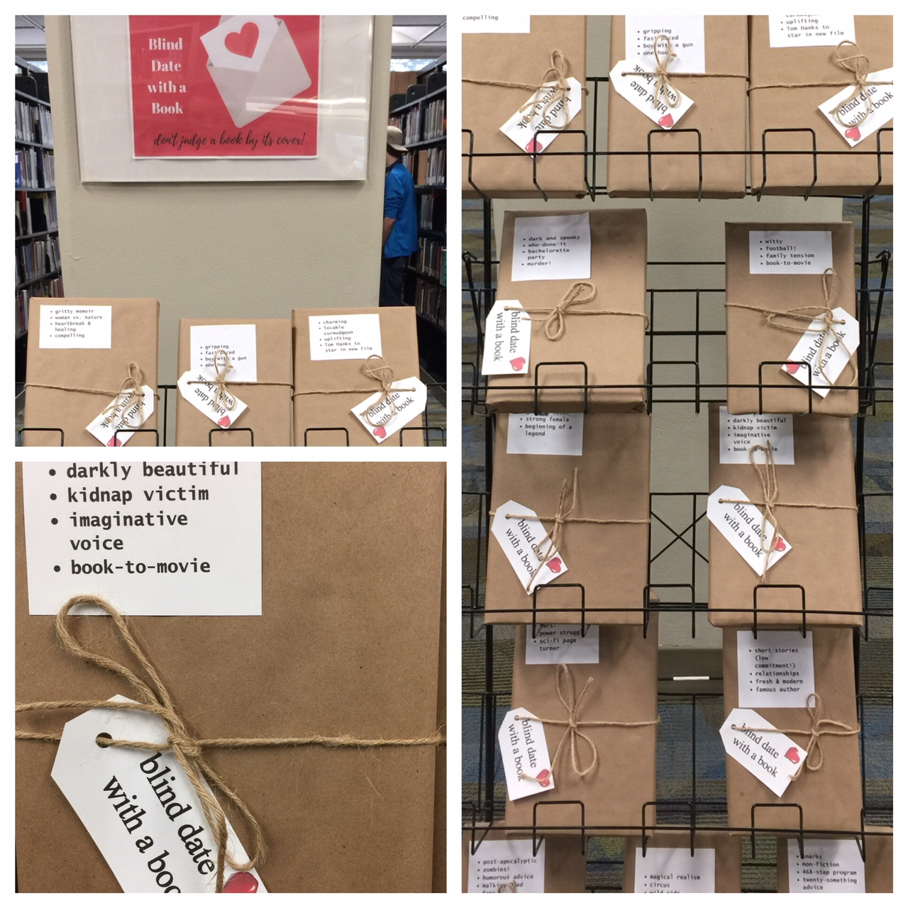 North - Blind Date with a Book!