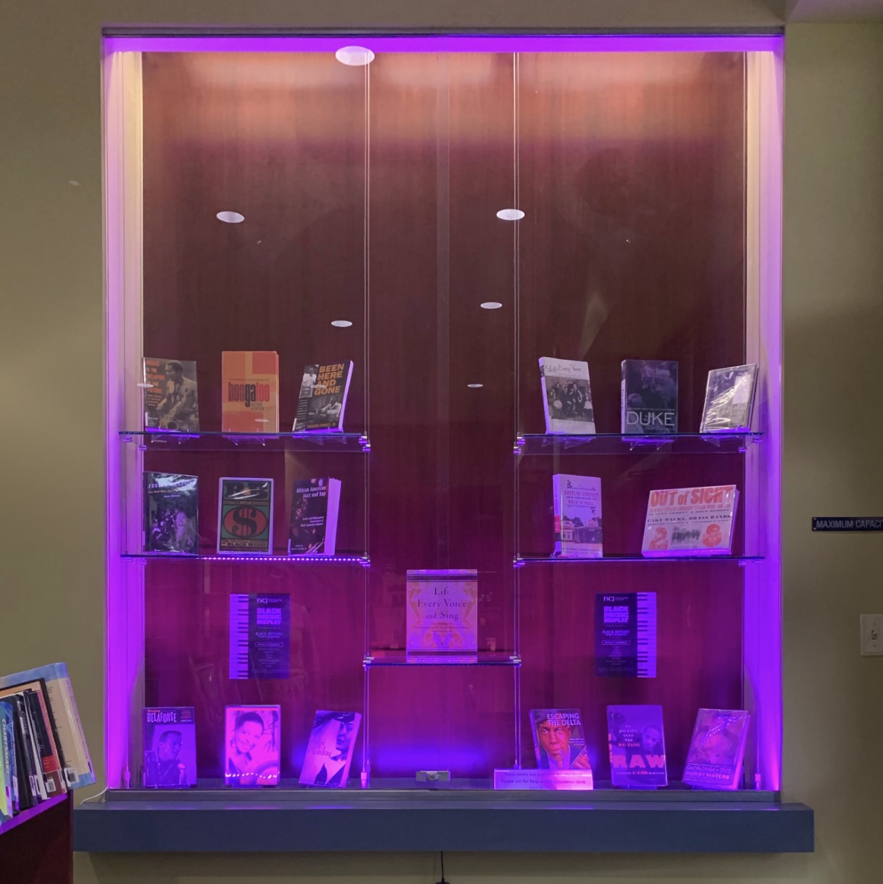 Deerwood Library Monthly Book Displays