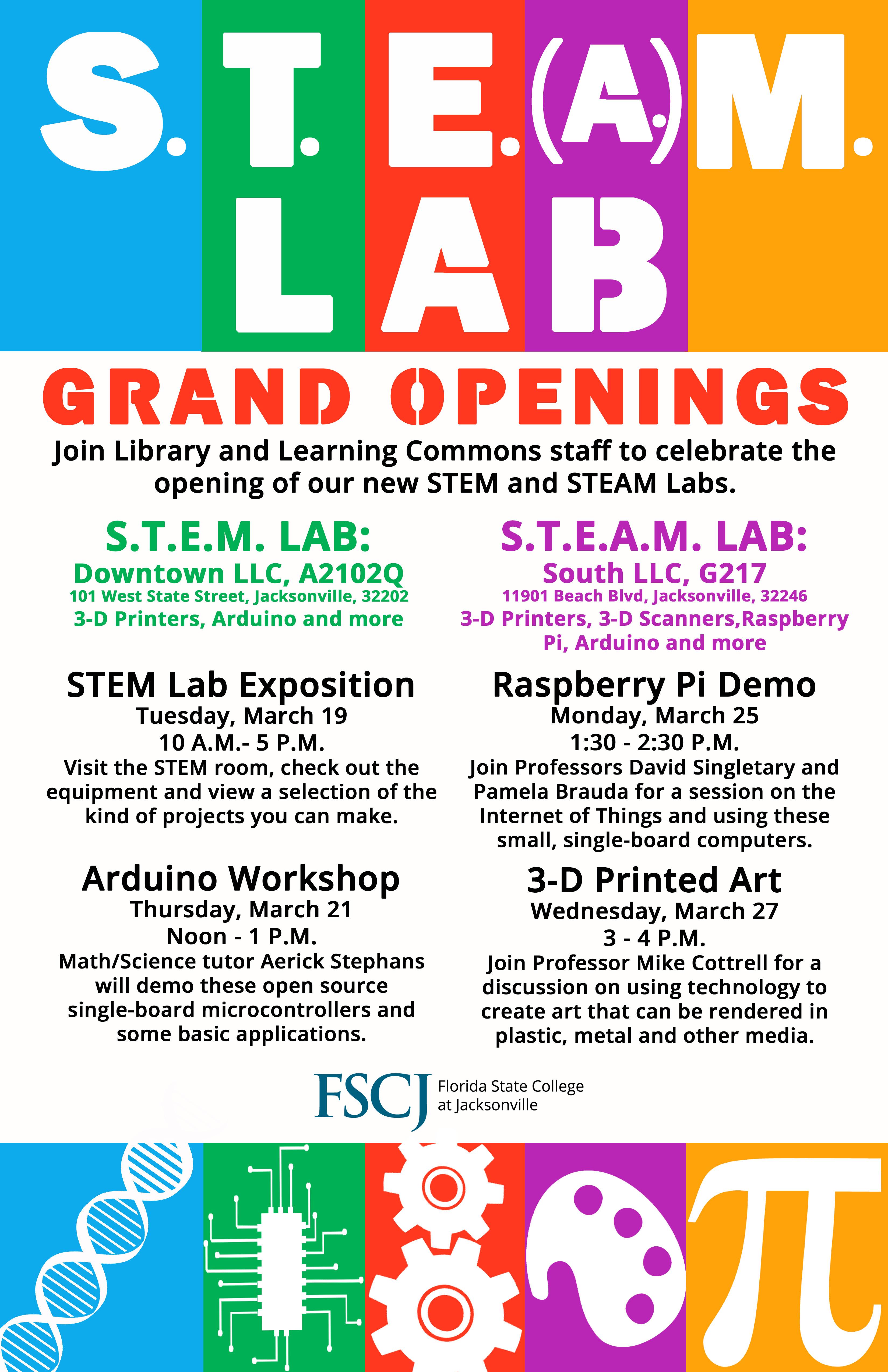 S.T.E.A.M. Lab: Raspeberry Pi Demo