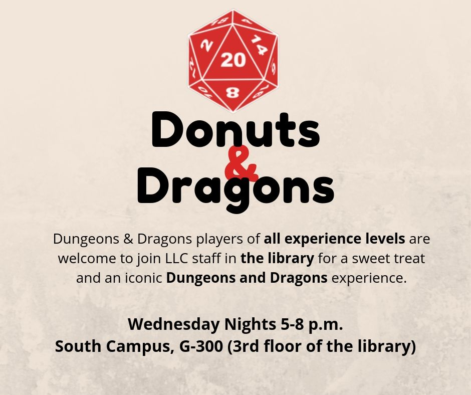 Donuts and Dragons: LLC D&D Gaming Session
